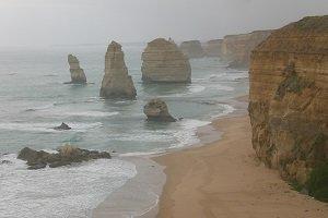 Die 12 Apostel an der Great Ocean Road gehören zu den beliebtesten Fotomotiven Australiens.