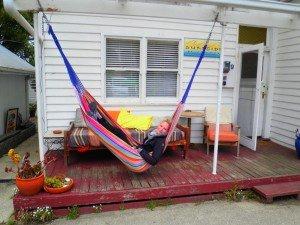 im Hostel lässt es sich gut entspannen