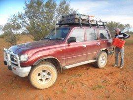Tanken im Outback
