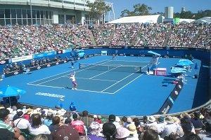 Die jedes Jahr im Januar stattfindene Tennisevent der Australian Open gehören zu den größten Sportveranstaltungen des Landes.