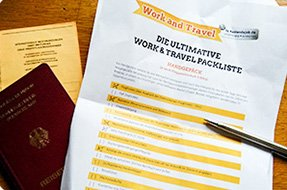 Die Work & Travel Australien-Packliste