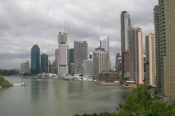 Skyline von Brisbane | Bankkonto in Australien eröffnen