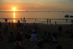 Der Sunset Market am Mindil Beach gehört zu den große Touristenattraktionen in Darwin.