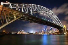Harbor Bridge in Sydney (Australien)