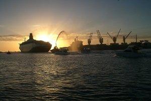 Das Hafenstädtchen Fremantle ist ein vor allem bei Backpacker beliebter Vorort von Perth.
