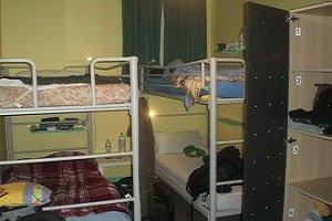 Ein typisches Hostel-Zimmer im belebten Viertel Kings Cross in Sydney