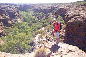 Wanderung im Kings Canyon
