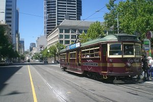 Die City Circle Tram bringt Touristen kostenlos zu den zahlreichen Sehenswürdigkeiten im Zentrum.