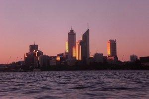 Perth ist die einzige Großstadt und Western Australia und von allen Großstädten die meisten Sonnenstunden.