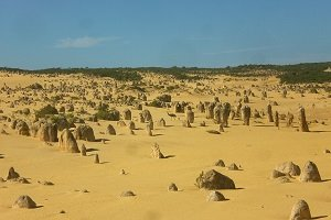 Die Pinnacles Desert