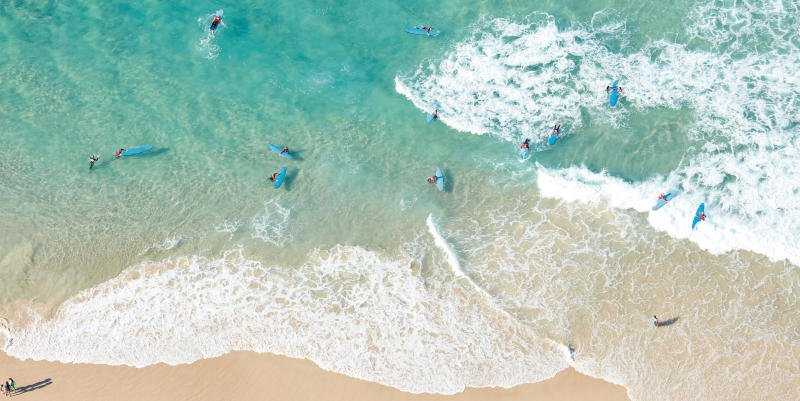 Surfen in Queensland