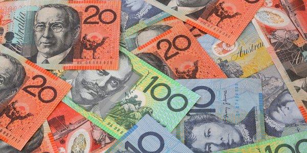 Die australische Währung.