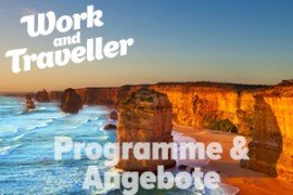 Work and Travel Australien: Programme & Angebote